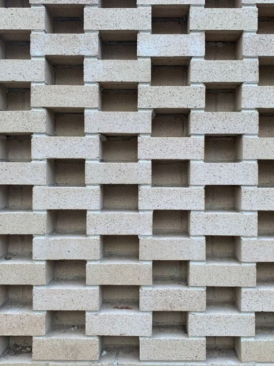 Image is of feature brickwork in Cairns