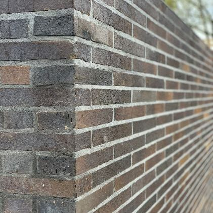 Brick Fence repaired in Cairns after cracking in the wall